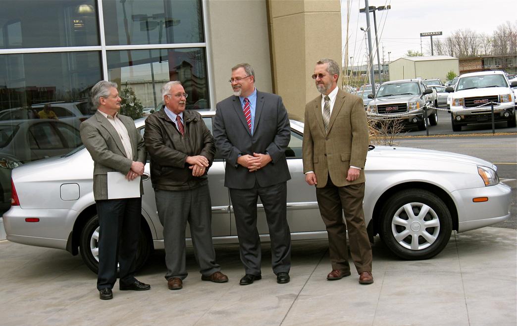 American Suzuki Motor Corp. donates cars to SIU
