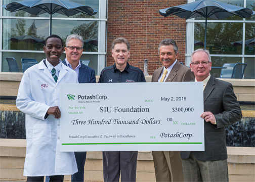 PotashCorp donation to SIU College of Agriculture