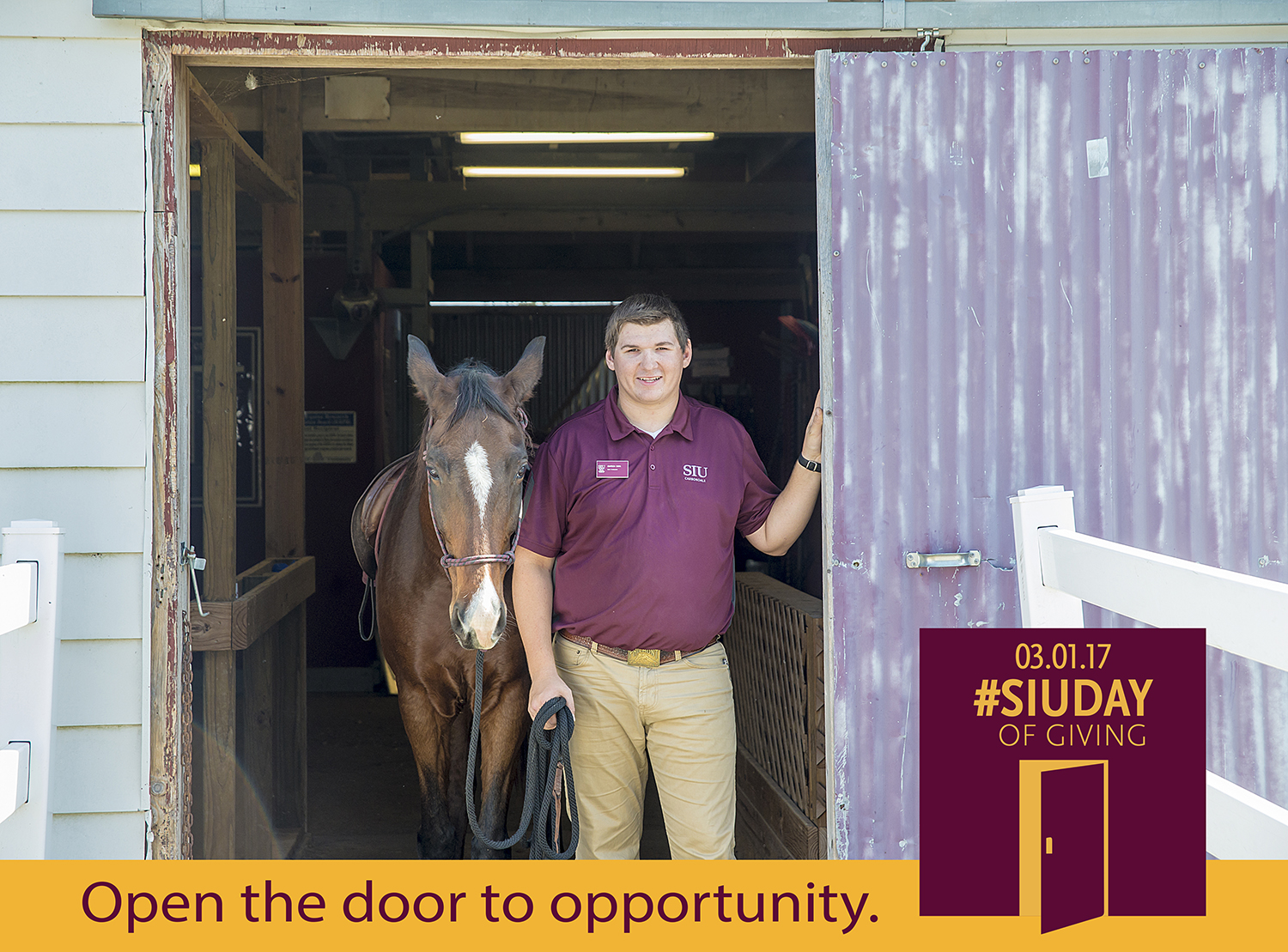 SIU Day of Giving – Open the door to opportunity at SIU College of Agricultural Sciences