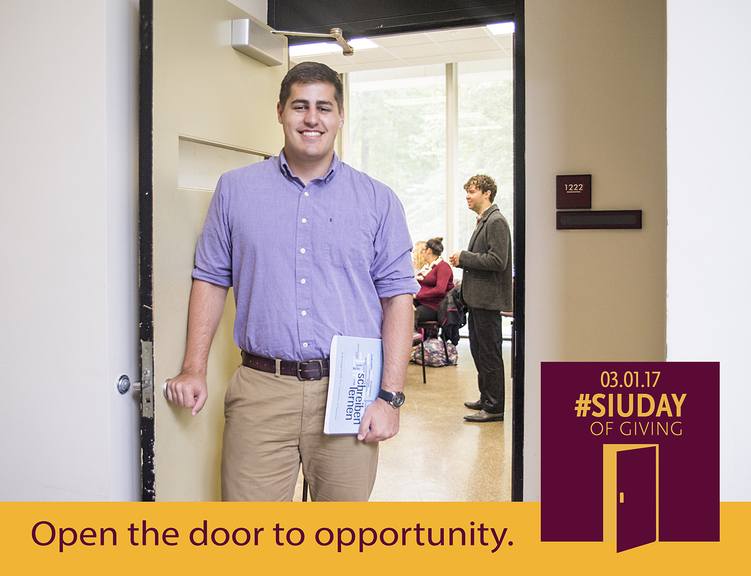 SIU Day of Giving - Open the door to opportunity at SIU College of Liberal Arts.