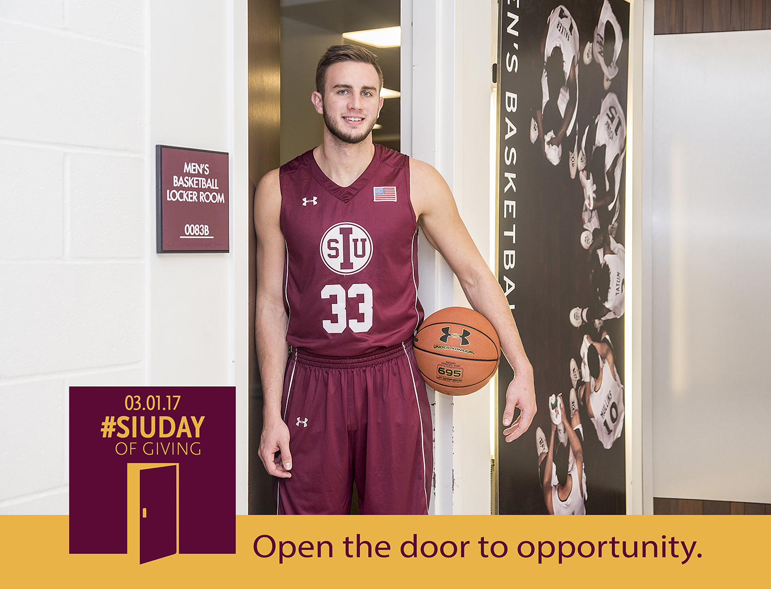 SIU Day of Giving: Open the door to opportunity at Saluki Athletics