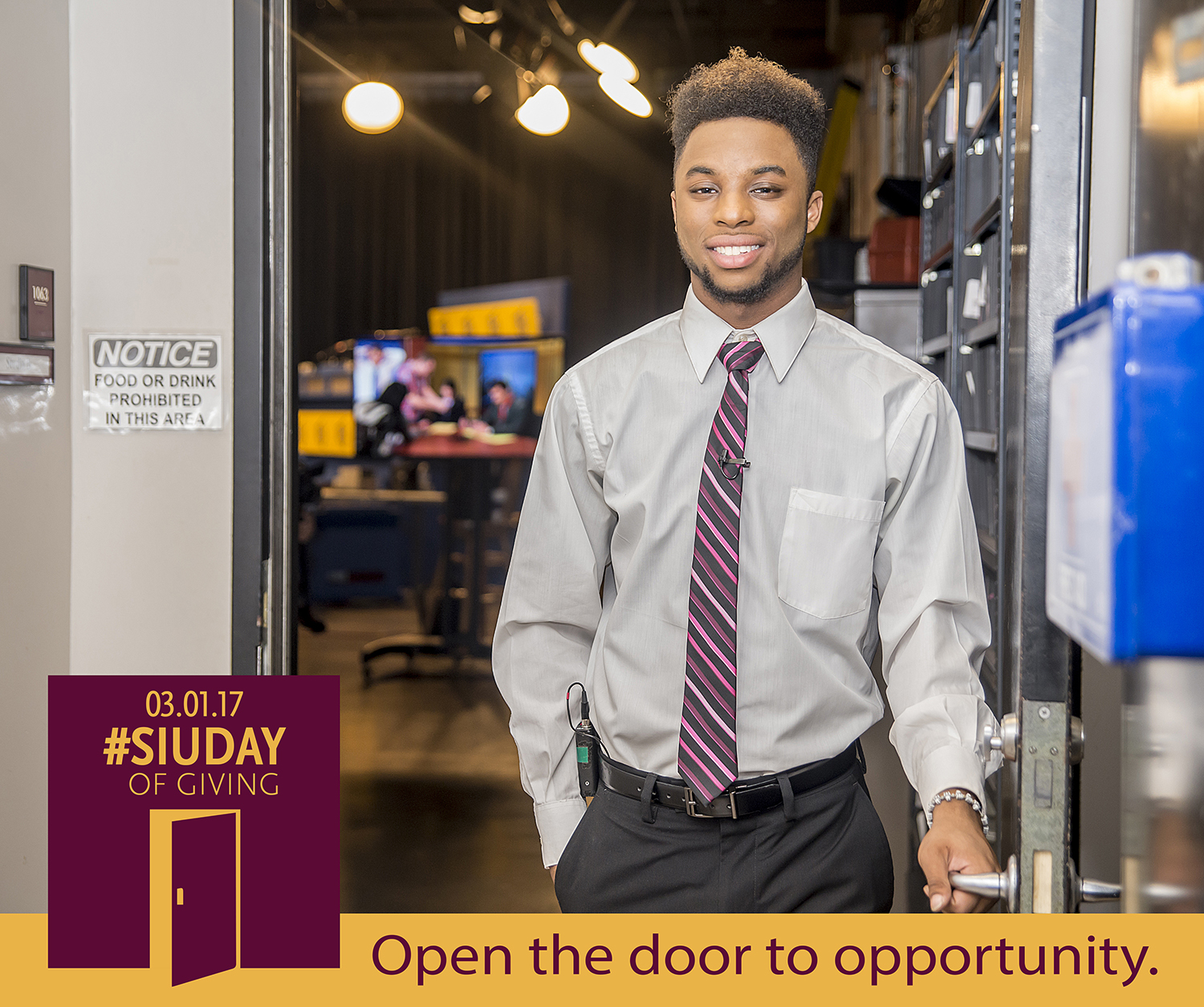SIU Day of Giving – Open the door to opportunity at SIU College of Mass Communication and Media Arts
