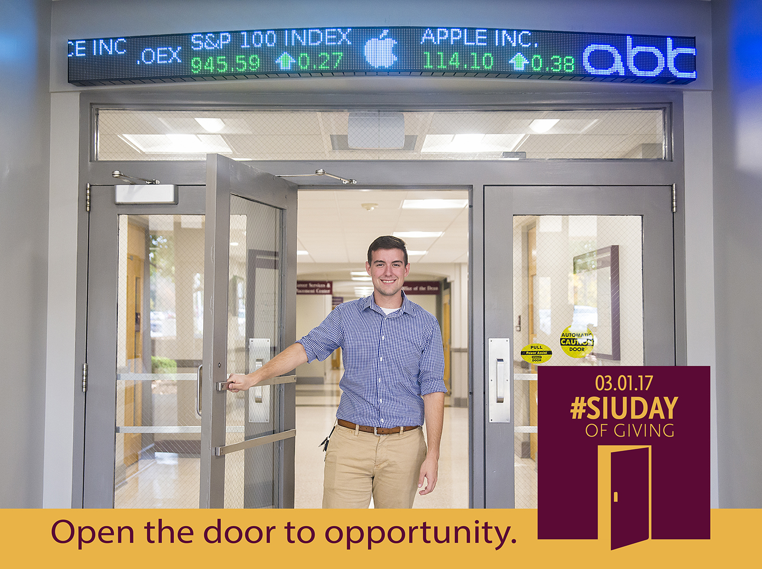 SIU Day of Giving – Open the door to opportunity at SIU College of Business