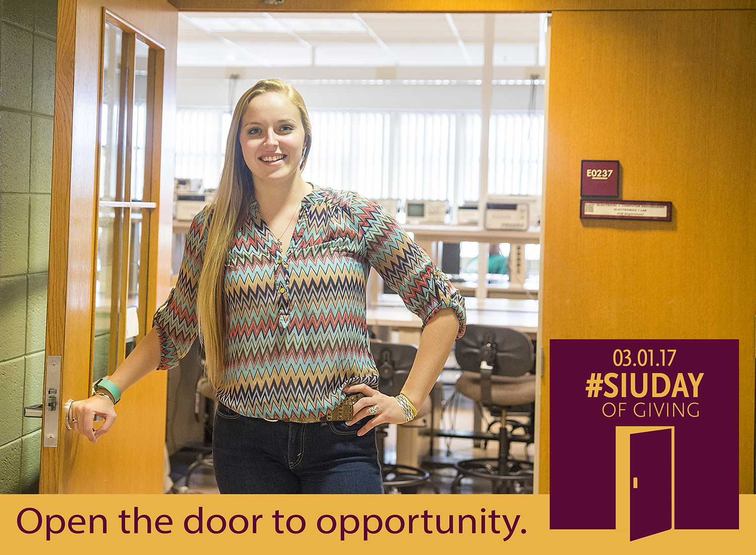 SIU Day of Giving – Open the door to opportunity at SIU College of Engineering