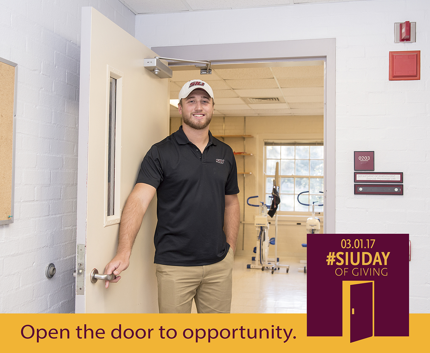 SIU Day of Giving – Open the door to opportunity at SIU College of Education and Human Services