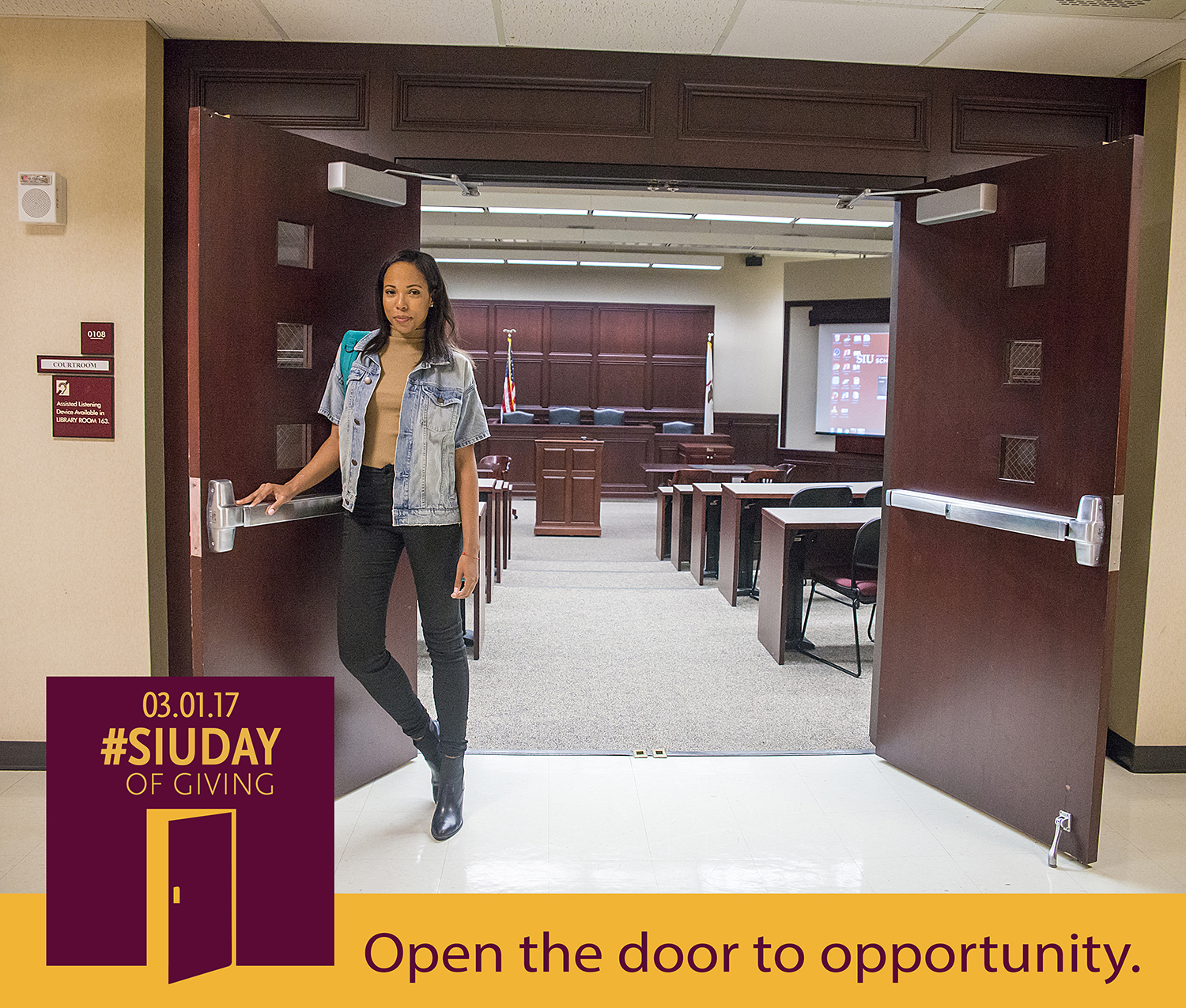 SIU Day of Giving – Open the door to opportunity at SIU School of Law