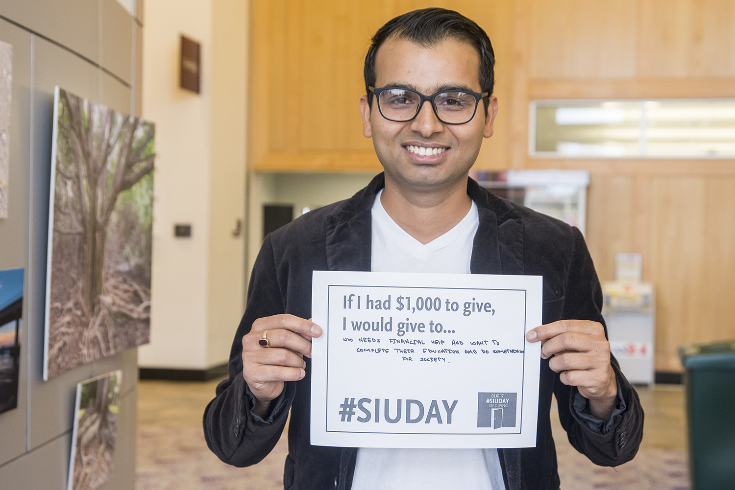 SIU Day of Giving Student Feature: Ramesh Neupane