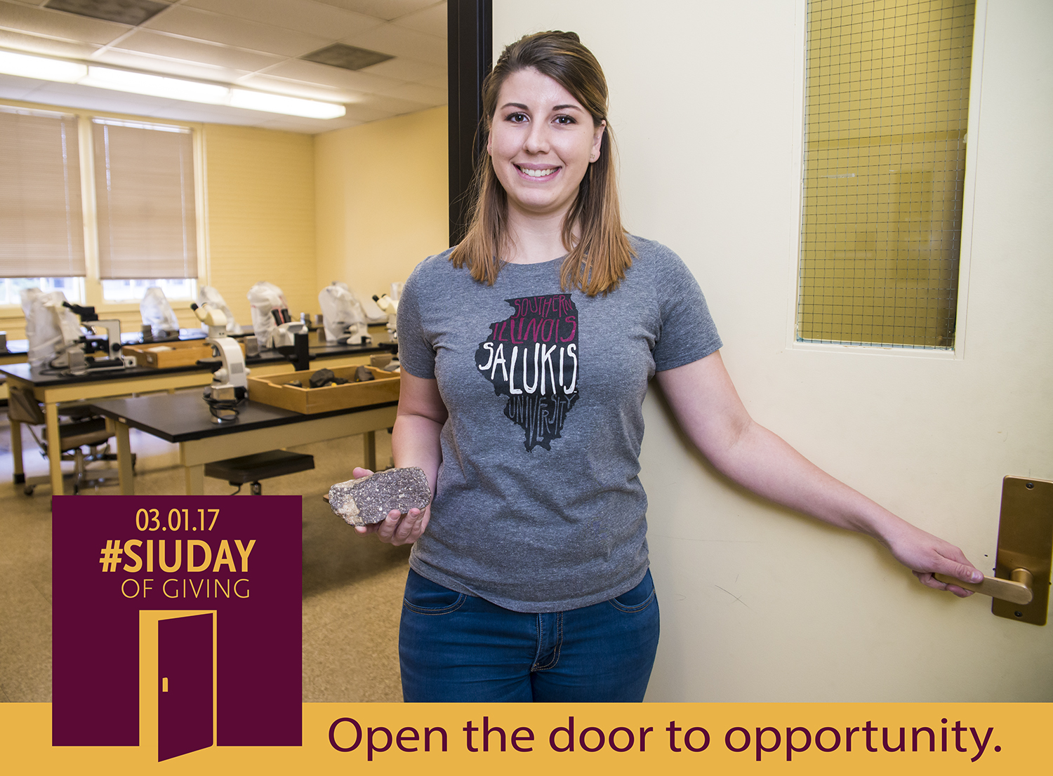 siu day of giving: open the door to opportunity at College of Science