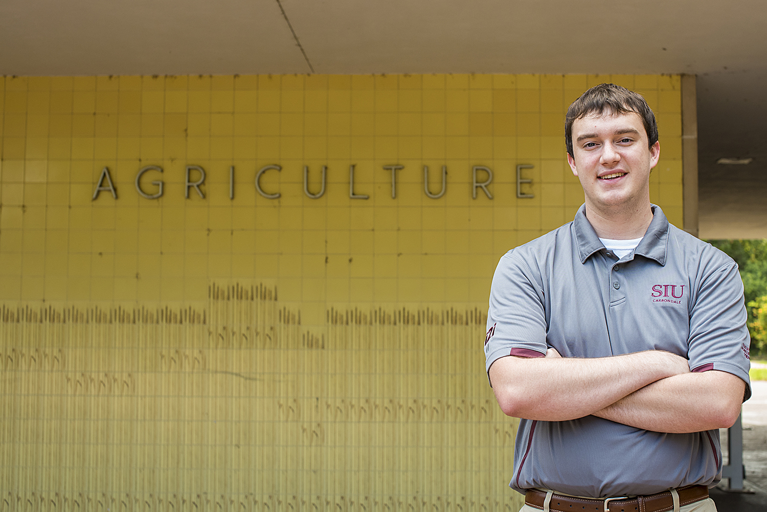 Paxton Morse, freshman at SIU College of Agricultural Sciences