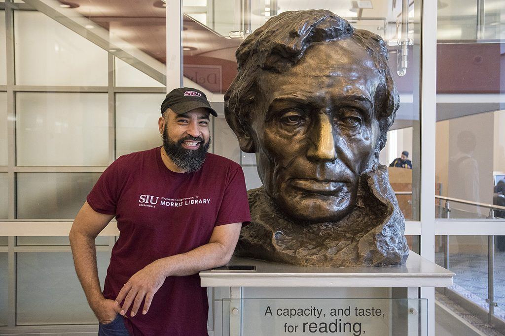 Student Spotlight: SIU Morris Library Dave Whitfield