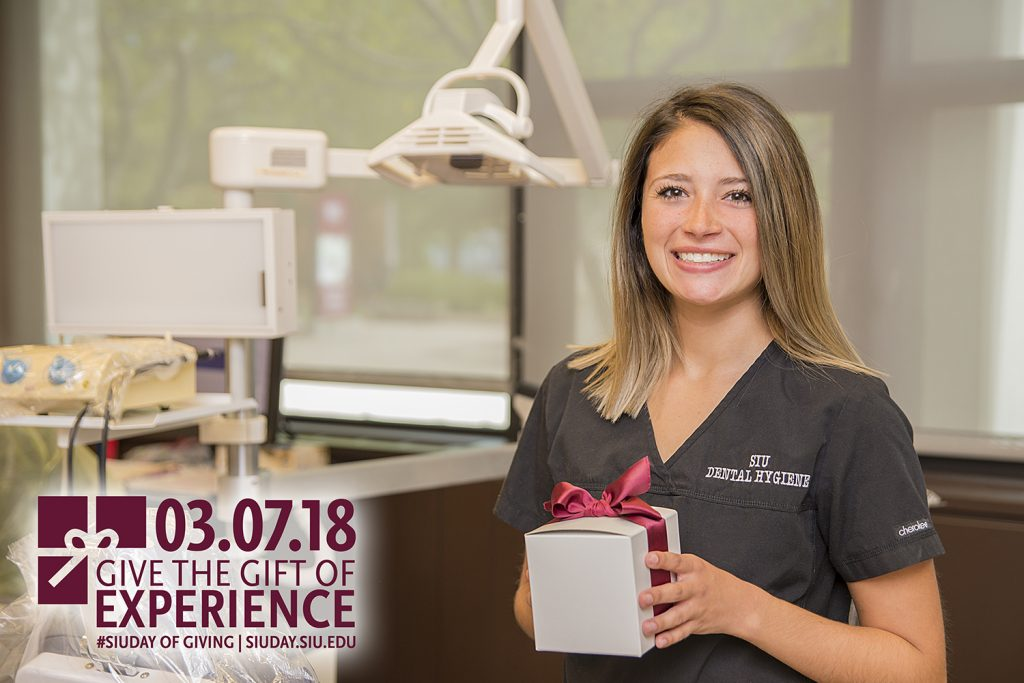 2018 SIU Day of Giving: GIve the gift of experience