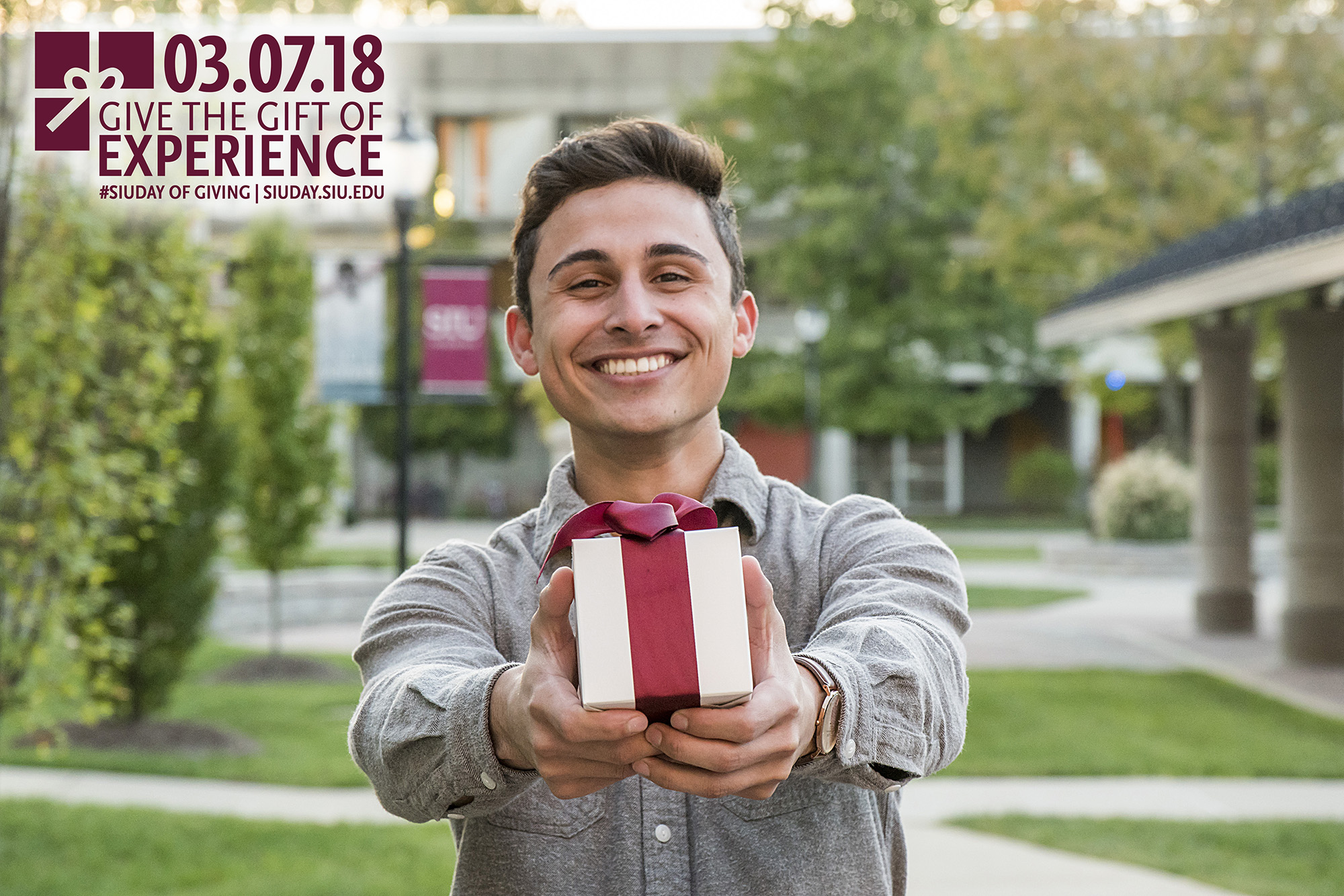 2018 SIU Day of Giving: Give the gift of experience - Alejandro Narvaez-Colon