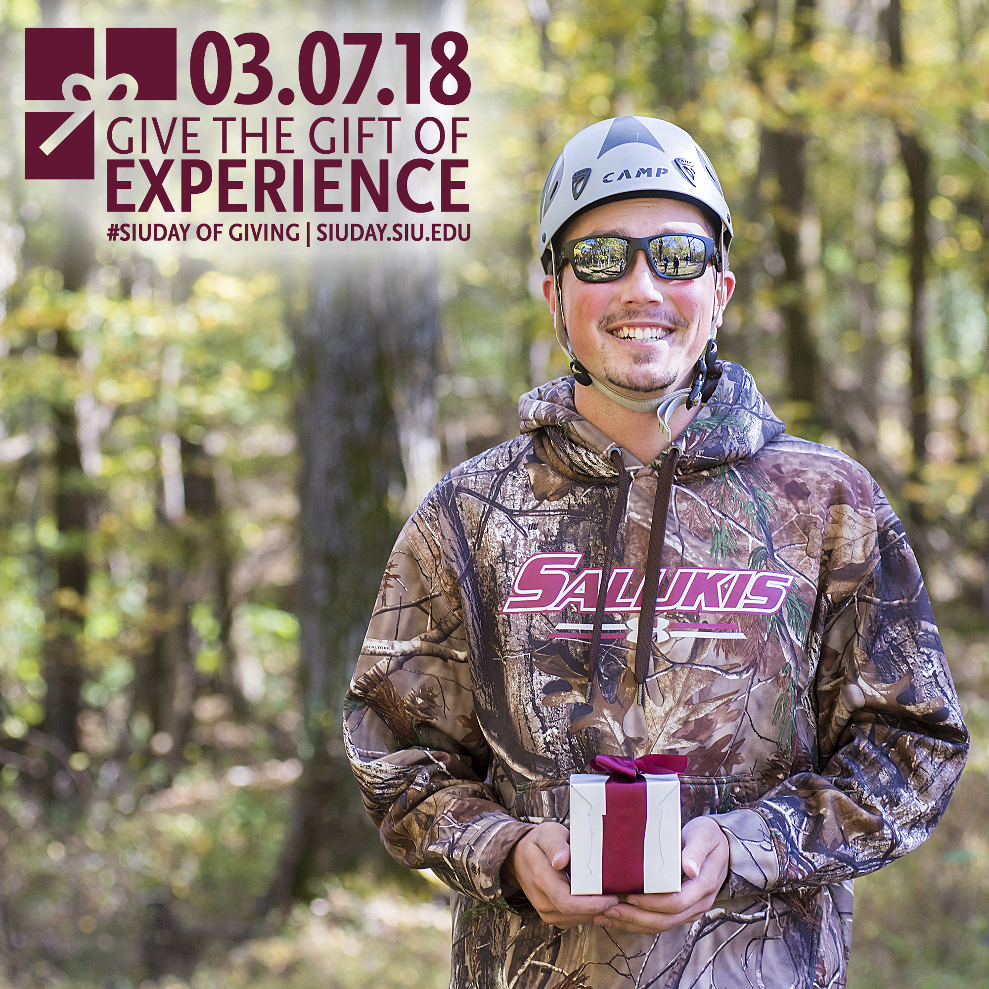 SIU Student Mitchell Niccolai, SIU Day of Giving 2018: Give the Gift of Experience