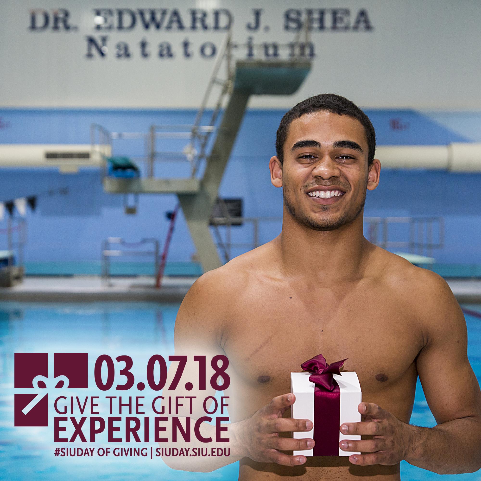 Elijah Mercado, SIU diver