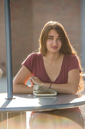 Carmen Burkett - Bertrand Scholar