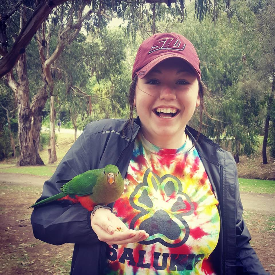 Alli Kellerman, SIU Scholarship recipient studies abroad in Australia