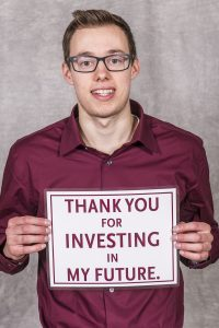 Meet SIU Scholarship Recipient – Corey Albrecht