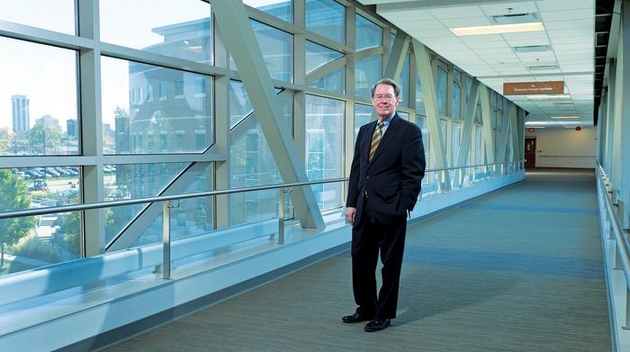 Interim SIU System President Kevin Dorsey