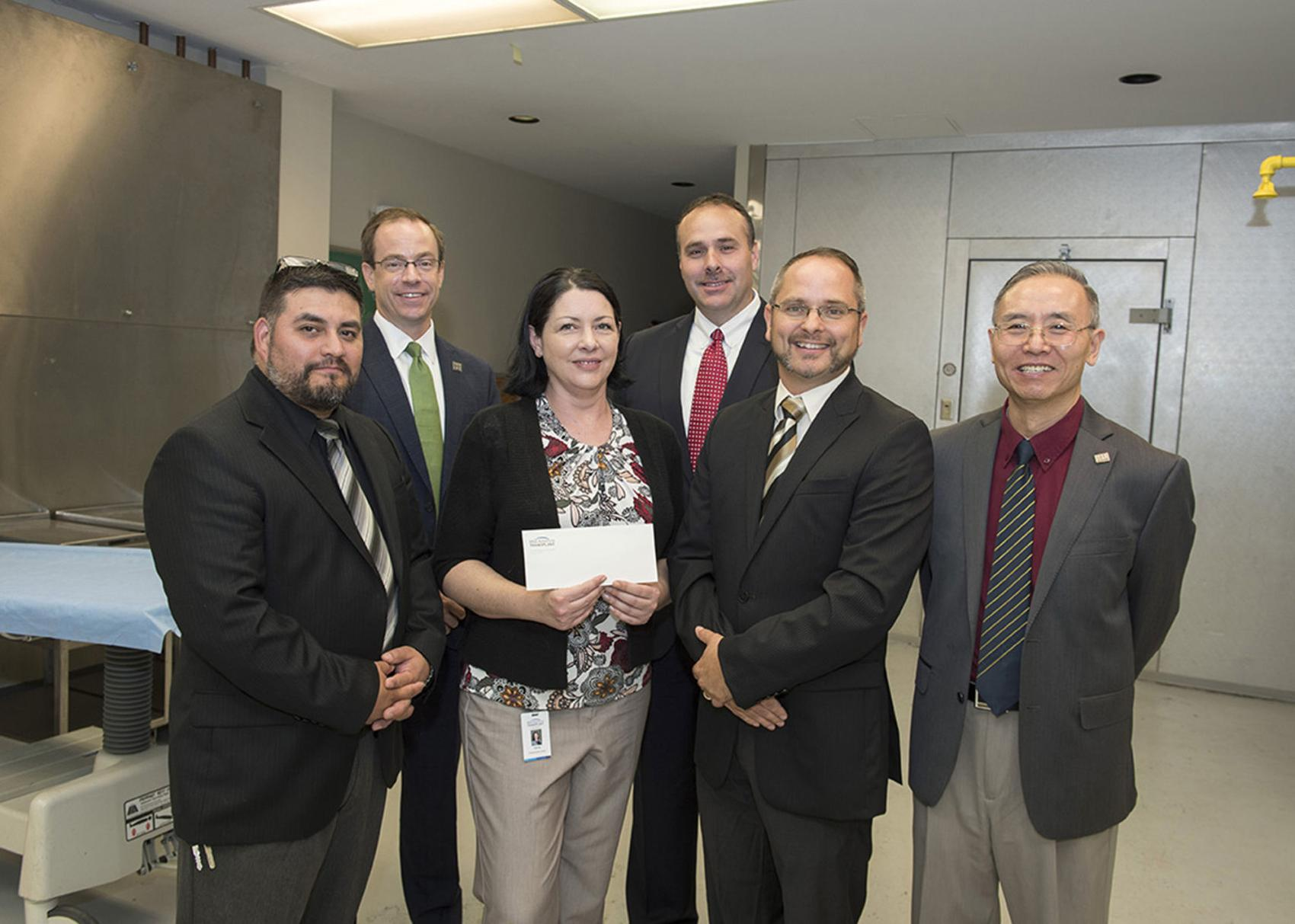 Donation to help upgrade SIUC Mortuary Science program lab, provide assistantships