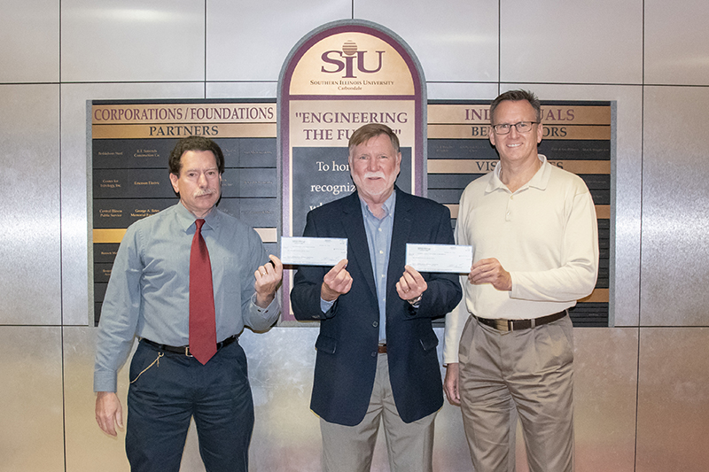 SIU College of Engineering receives donation from the George Bates Foundation