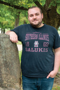Randall Grider, Bertrand Scholarship recipient at SIU