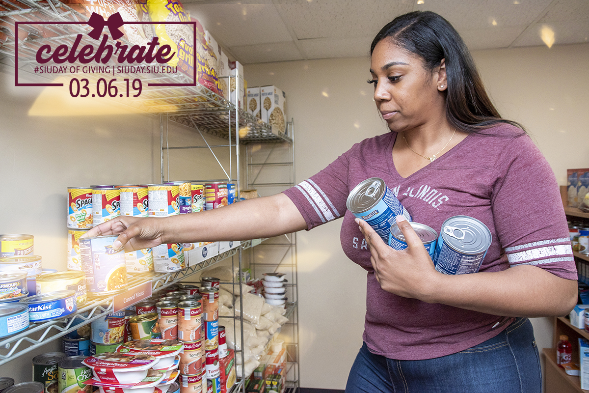 Support Saluki Food Pantry on SIU Day of Giving