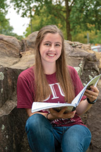 SIU Scholarship Recipient lilyanne poole