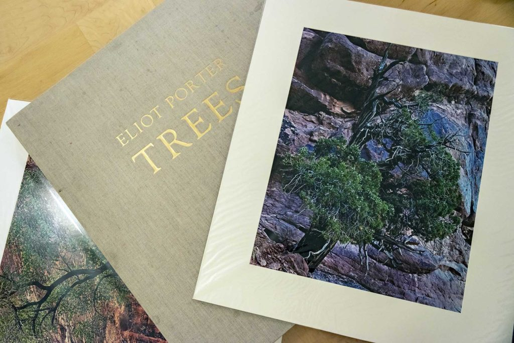 "Elliot Porter's limited edition portfolio called ""Trees"""